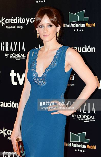 Ana Polvorosa attends Goya Cinema Awards 2014 after party at Centro de Congresos Principe Felipe on February 9 2014 in Madrid Spain