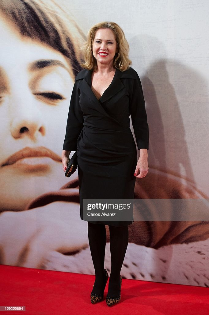 Ana Rodriguez attends 'Venuto Al Mondo' (Volver A Nacer) premiere at Capitol cinema on January 10, 2013 in Madrid, Spain.