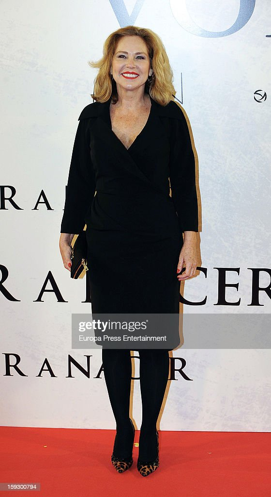 Ana Rodriguez attends 'Venuto Al Mondo' premierte at Capitol Cinema on January 10, 2013 in Madrid, Spain.