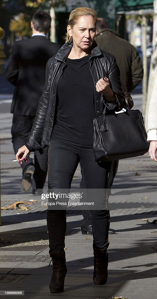 Ana Rodriguez is seen on November 22, 2012 in Madrid, Spain.