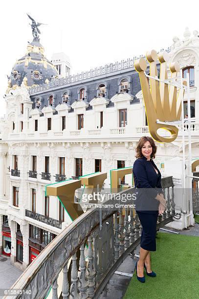 Ana Rosa Quintana attends 'Cuarzo' new headquarters presentation on October 20 2016 in Madrid Spain