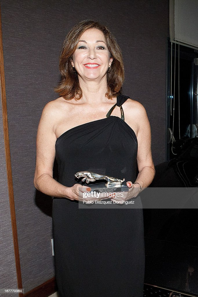 Ana Rosa Quintana attends 'Orange And Lemon' Awards ceremony at Sheraton Mirasierra Hotel on April 29, 2013 in Madrid, Spain.