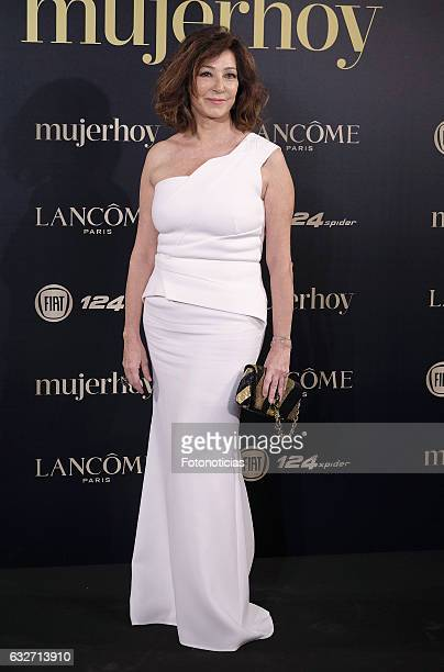 Ana Rosa Quintana attends the 2016 'Mujer Hoy' awards ceremony at the Casino de Madrid on January 25 2017 in Madrid Spain