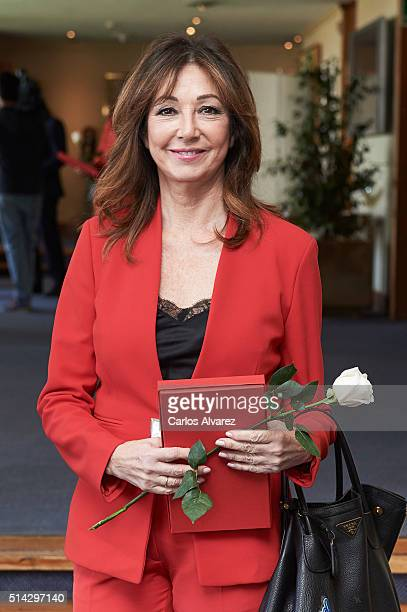 Ana Rosa Quintana attends the International Women's Day at the Financial Club on March 8 2016 in Madrid Spain