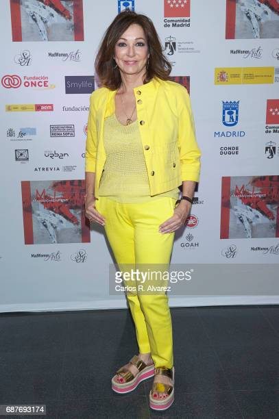 Ana Rosa Quintana attends the 'Madwomenfest' presentation at the Palacio de los Deportes WiZink Center on May 24 2017 in Madrid Spain