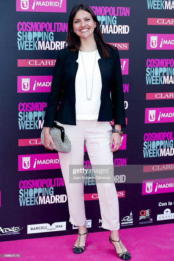 Ana Ruiz attends the 'Cosmopolitan Shopping Week' party at the Plaza de Callao on May 28, 2013 in Madrid, Spain.
