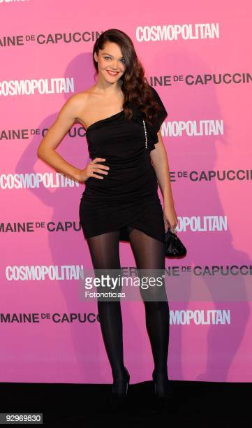 Ana Rujas arrives to the 'Fun Fearless Female Cosmopolitan Awards 2009' ceremony held at the Ritz Hotel on November 10 2009 in Madrid Spain