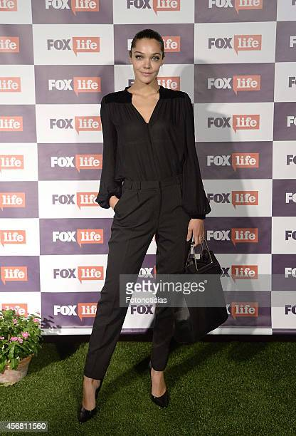 Ana Rujas attends Fox Life channel cocktail presentation at Club Pinar on October 7 2014 in Madrid Spain