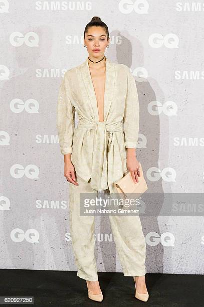 Ana Rujas attends 'GQ Men Of The Year Awards 2016' photocall at Palace Hotel on November 3 2016 in Madrid Spain