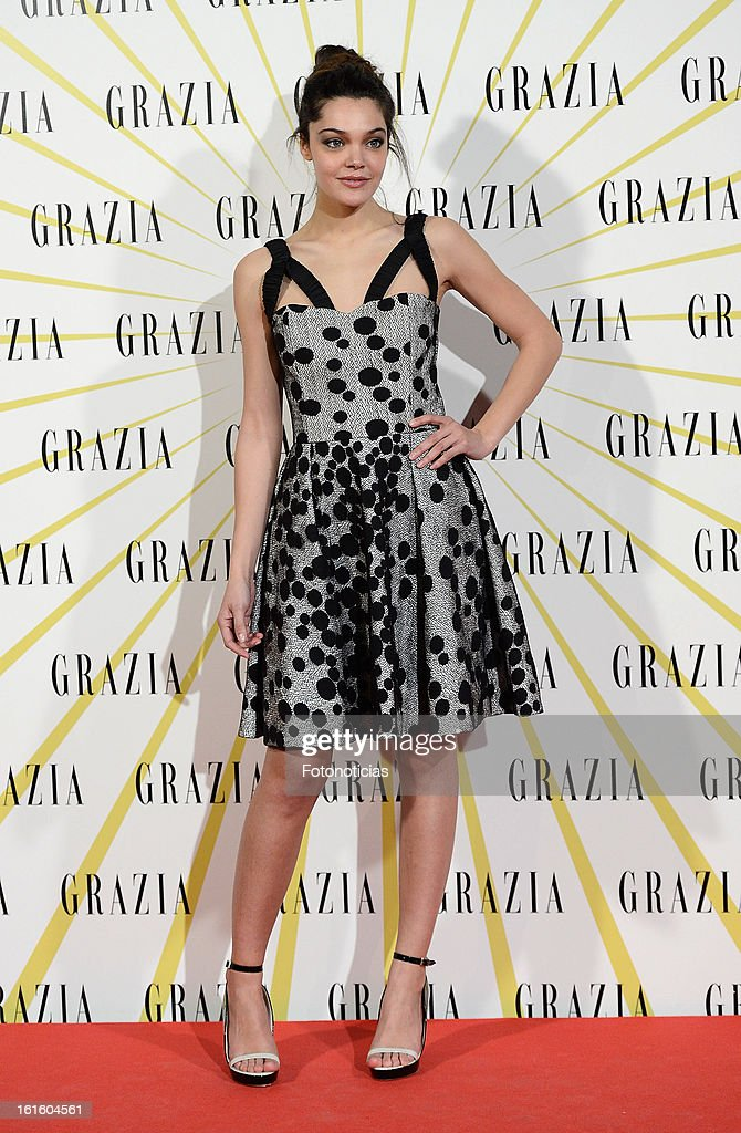 Ana Rujas attends Grazia Magazine launch party at the Circo Prize Theater on February 12, 2013 in Madrid, Spain.