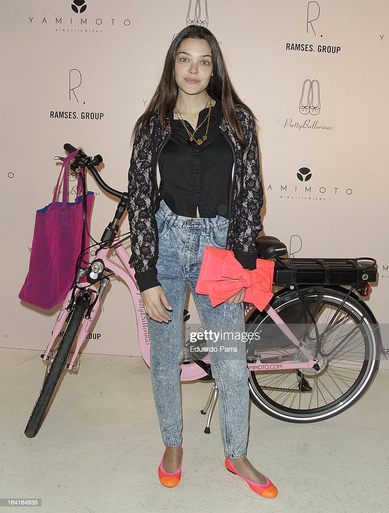 Ana Rujas attends Pretty Ballerinas photocall party at Ramses bar on March 20, 2013 in Madrid, Spain.