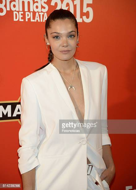 Ana Rujas attends the Fotogramas Awards at Joy Eslava Club on March 7 2016 in Madrid Spain