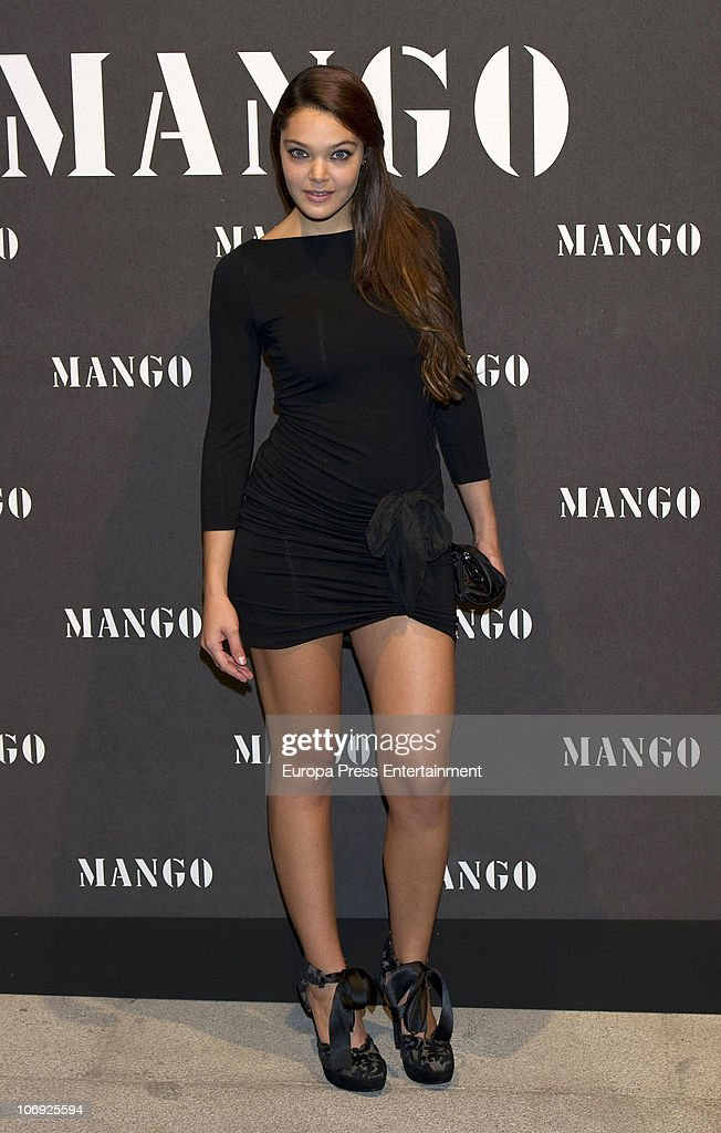 Ana Rujas attends the launch of Mango new spring/summer 2011 collection at the Palacio de Cibeles on November 16, 2010 in Madrid, Spain.