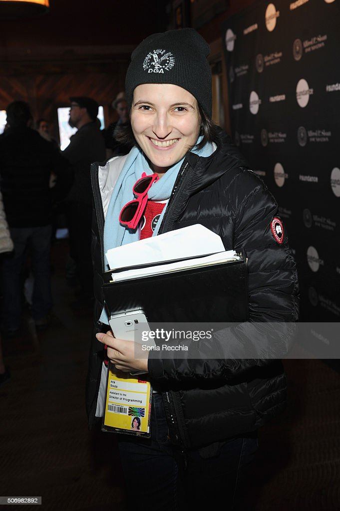 Ana Souza attends the Alfred P Sloan Foundation Reception and Prize Announcement during the 2016 Sundance Film Festival at High West Distillery on...