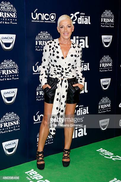 Ana Torroja attends 'Cadena Dial' 25th Anniversary photocall at Barclaycard on September 3 2015 in Madrid Spain