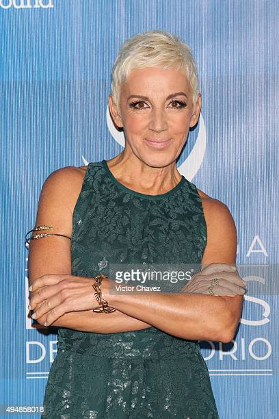 Ana Torroja attends Lunas Del Auditorio Nacional 2015 at Auditorio Nacional on October 28 2015 in Mexico City Mexico
