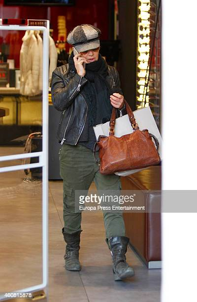 Ana Torroja is seen on December 23 2014 in Madrid Spain