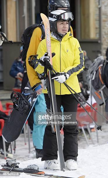 Ana Torroja is seen on February 28 2015 in Granada Spa