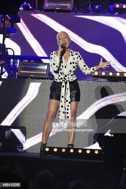 Ana Torroja performs during 'Cadena Dial' 25th Anniversary concert on September 3 2015 in Madrid Spain