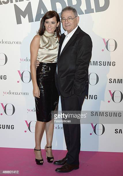 Ana Turpin and Roberto Verino attend the 'Yo Dona' Party at the NH Collection Eurobuilding Hotel on September 17 2015 in Madrid Spain