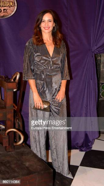 Ana Turpin attends 'La Familia Addams' Madrid premiere on October 10 2017 in Madrid Spain