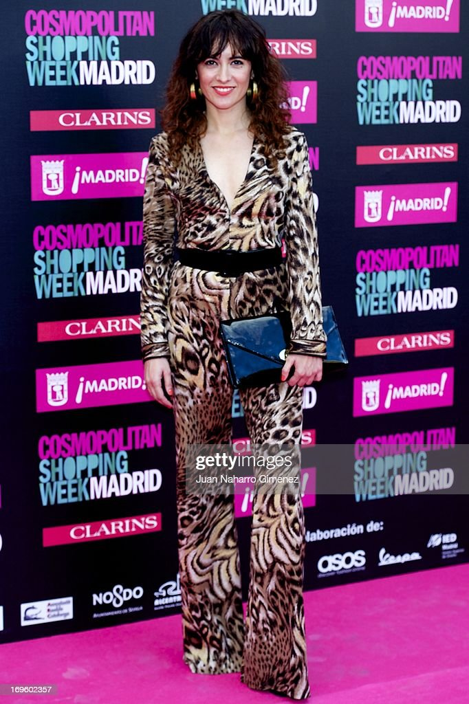 Ana Turpin attends the 'Cosmopolitan Shopping Week' party at the Plaza de Callao on May 28, 2013 in Madrid, Spain.