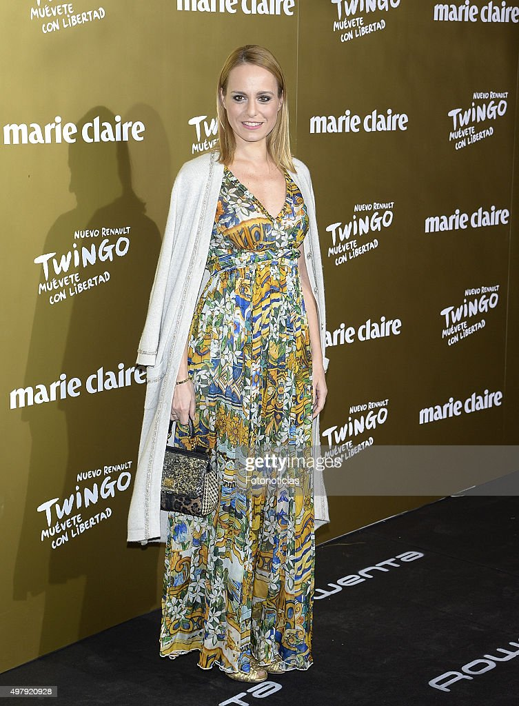 Ana Urena attends the 2015 Marie Claire Prix de la Mode at Callao Cinema on November 19 2015 in Madrid Spain