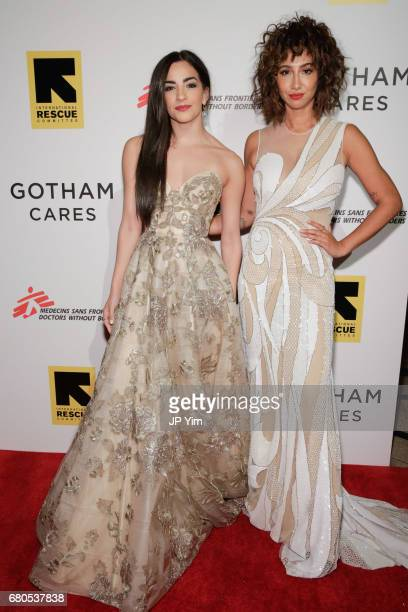 Ana Villafane and Jackie Cruz attend Gotham Cares Gala Fundraiser For The Syrian Refugee Crisis In Support of Medecin Sans Frontieres and The...
