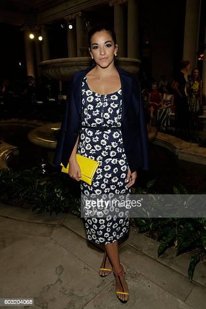 Ana Villafane attends the Carolina Herrera fashion show during New York Fashion Week on September 12 2016 in New York City