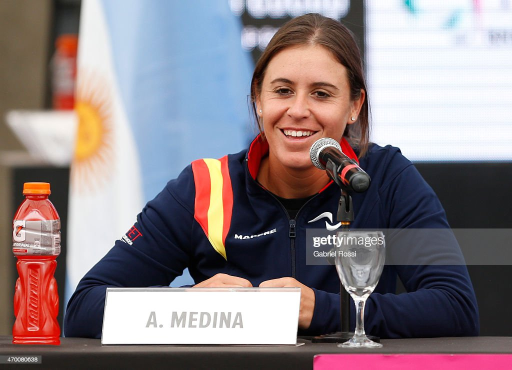 Official Draw: Argentina v Spain - Fed Cup