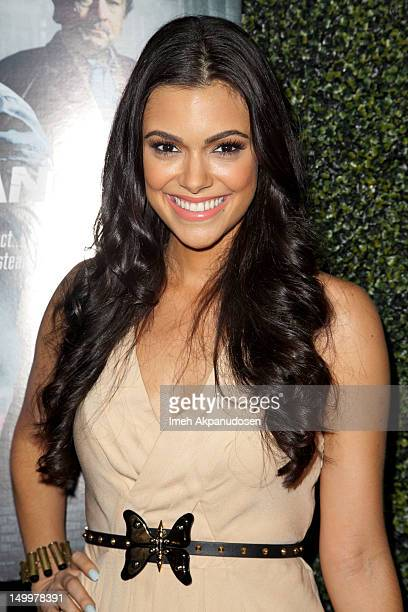 Anabelle Acosta attends the screening of 'Freelancers' at Mann Chinese 6 on August 7 2012 in Los Angeles California
