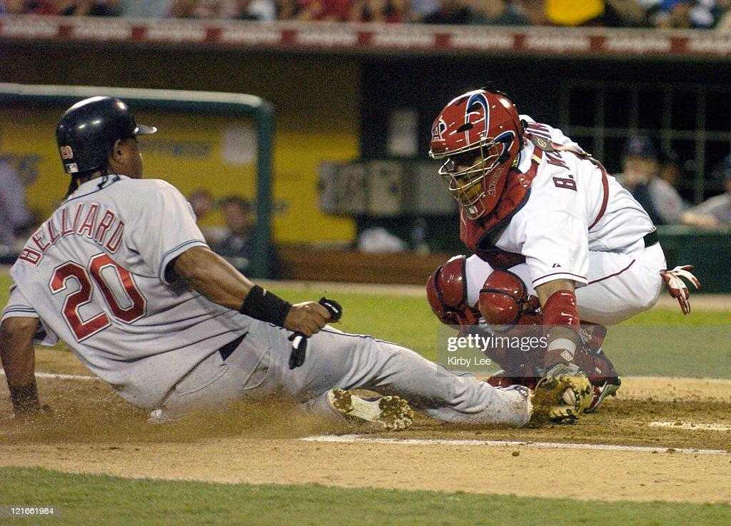 Cleveland Indians vs Anaheim Angels - July 19, 2004