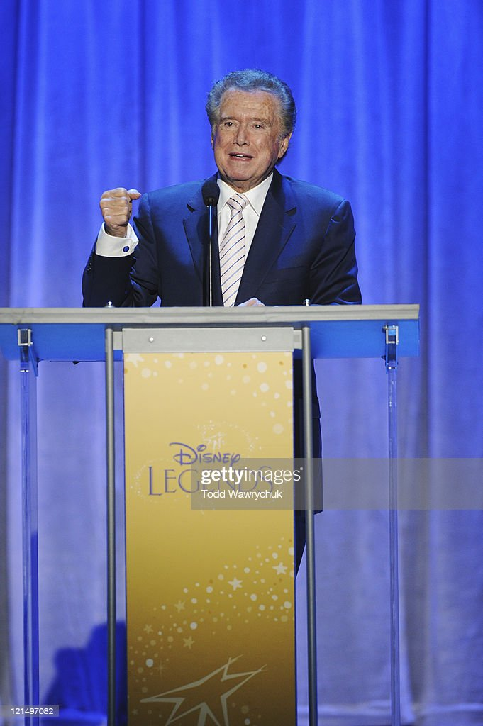 CEREMONY - Anaheim, California (August 19, 2011) - Men and women who have contributed to the creative legacy of The Walt Disney Company were honored in a special presentation, hosted by Tom Bergeron. The full list of honorees includes renowned celebrities, actors and artists. REGIS