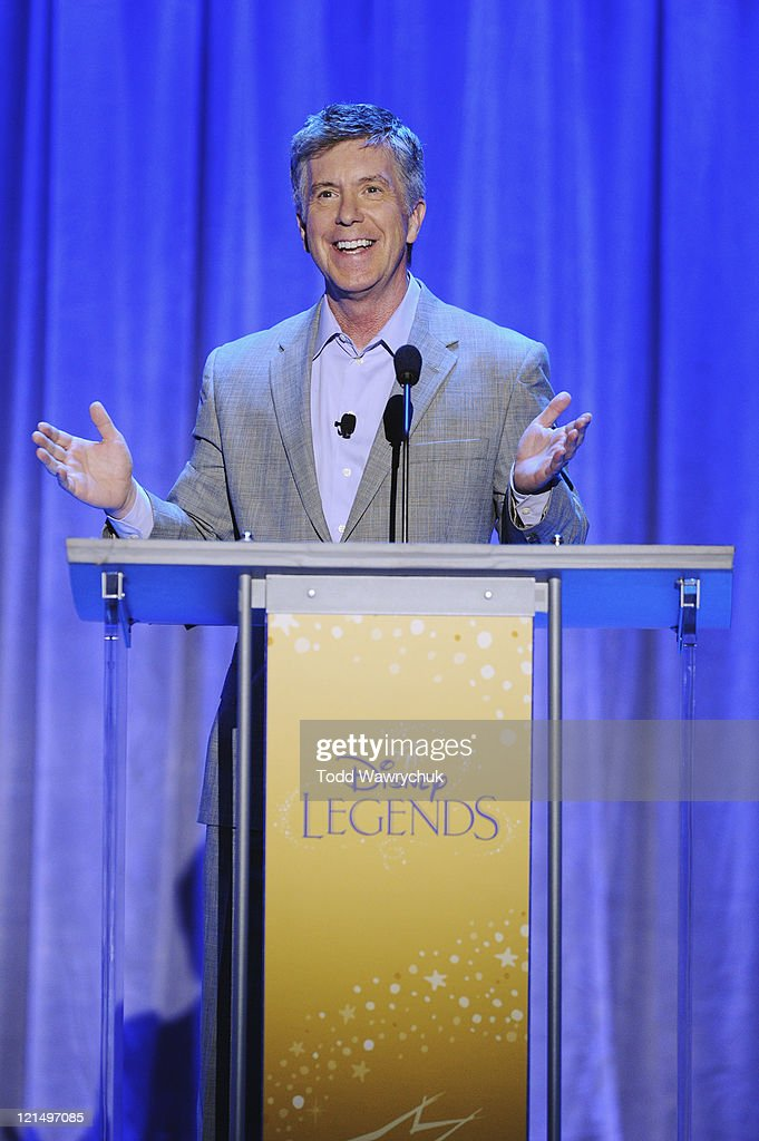 CEREMONY - Anaheim, California (August 19, 2011) - Men and women who have contributed to the creative legacy of The Walt Disney Company were honored in a special presentation, hosted by Tom Bergeron. The full list of honorees includes renowned celebrities, actors and artists. TOM BERGERON