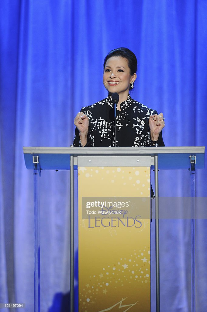 CEREMONY - Anaheim, California (August 19, 2011) - Men and women who have contributed to the creative legacy of The Walt Disney Company were honored in a special presentation, hosted by Tom Bergeron. The full list of honorees includes renowned celebrities, actors and artists. LEA SALONGA