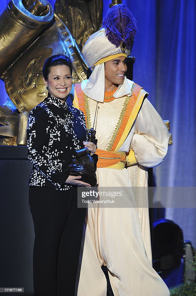 CEREMONY - Anaheim, California (August 19, 2011) - Men and women who have contributed to the creative legacy of The Walt Disney Company were honored in a special presentation, hosted by Tom Bergeron. The full list of honorees includes renowned celebrities, actors and artists. (D23 EXPO/TODD WAWRYCHUK