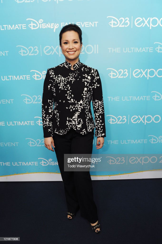 CEREMONY - Anaheim, California (August 19, 2011) - Men and women who have contributed to the creative legacy of The Walt Disney Company were honored in a special presentation, hosted by Tom Bergeron. The full list of honorees includes renowned celebrities, actors and artists. (Photo by Todd Wawrychuk/Disney Channel via Getty Images)LEA SALONGA
