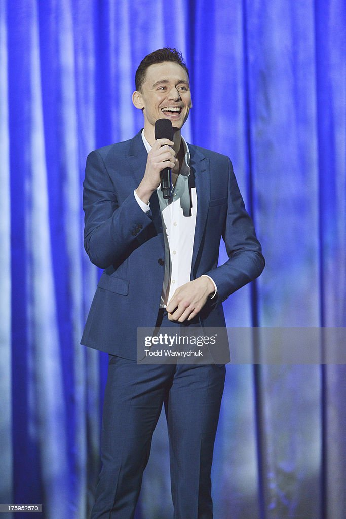 STUDIOS - Anaheim, California (August 10, 2013) - The Walt Disney Studios showcases the Studios' exciting live-action release slate, including Disney's 'Saving Mr. Banks' and 'Tomorrowland,' 'Marvel's Thor: The Dark World,' and much more. TOM HIDDLESTON