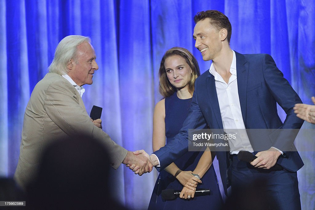 STUDIOS - Anaheim, California (August 10, 2013) - The Walt Disney Studios showcases the Studios' exciting live-action release slate, including Disney's 'Saving Mr. Banks' and 'Tomorrowland,' 'Marvel's Thor: The Dark World,' and much more. HIDDLESTON