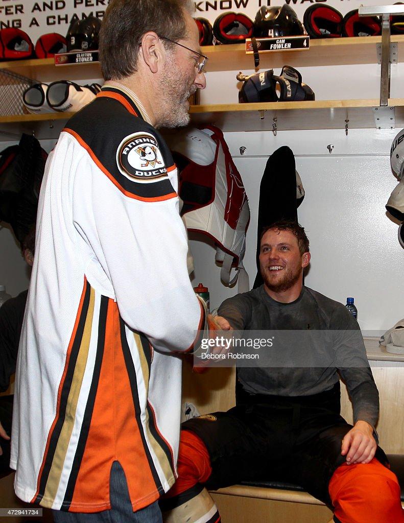 Calgary Flames v Anaheim Ducks - Game Five