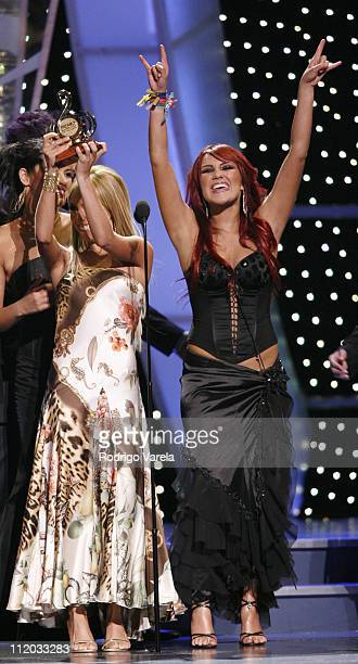 Anahi and Dulce Maria of 'Rebelde RBD'