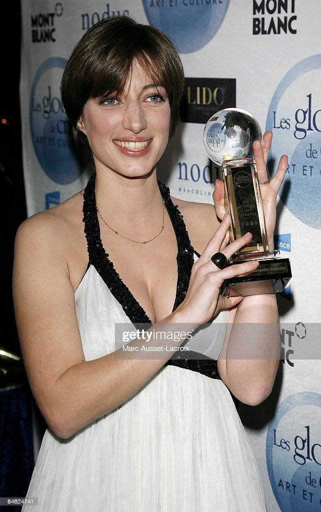 Anais attends Globes of Cristal Awards for Art and Culture on February 2, 2009 in Paris, France.