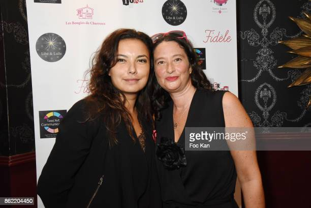 Anais Baydemir and Esther Meyniel attend the 'Souffle de Violette' Auction Party As part of 'Octobre Rose' Hosted by Ereel at Fidele Club on October...
