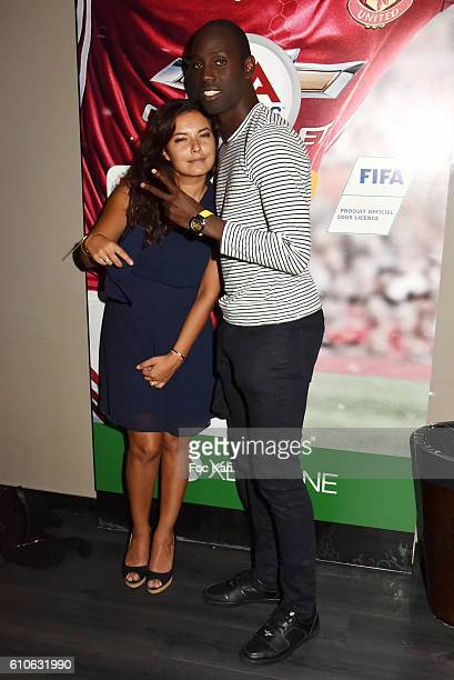 Anais Baydemir and Leslie Djhone attend FIFA Xperience at Cercle Cadet on September 26 2016 in Paris France