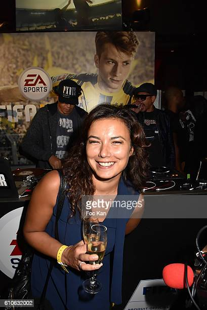 Anais Baydemir attends FIFA Xperience at Cercle Cadet on September 26 2016 in Paris France
