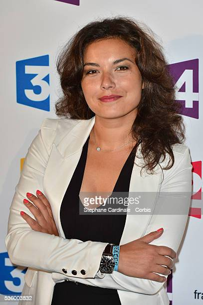 Anais Baydemir attends 'France Televisions' Photocall at Palais De Tokyo on August 26 2014 in Paris France