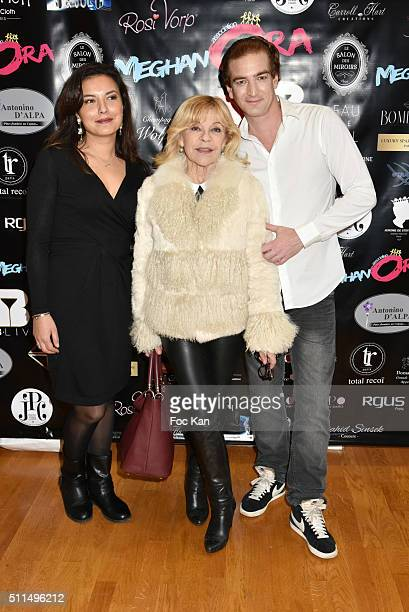 Anais Baydemir singer Nicolettaand Ludovic Chancel attend The Meghanora Auction Fashion Show to Benefit Meghanora Children Care Association Photocall...
