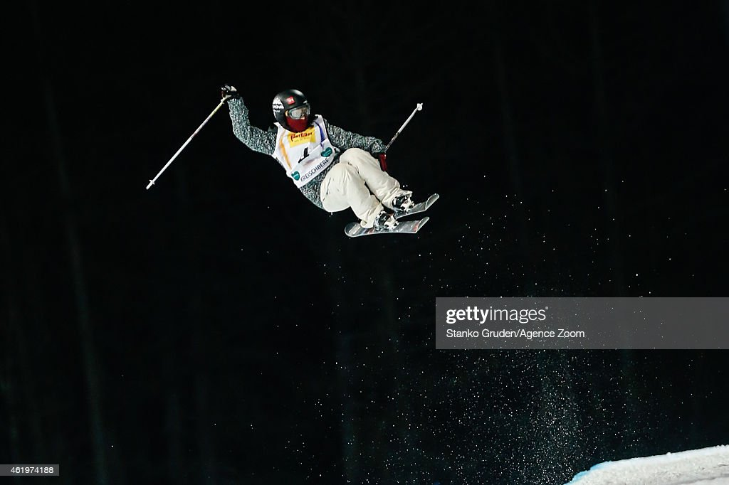 Anais Caradeux of France competes during the FIS Freestyle Ski World Championships Men's and Women's Halfpipe on January 22, 2015 in Kreischberg, Austria.
