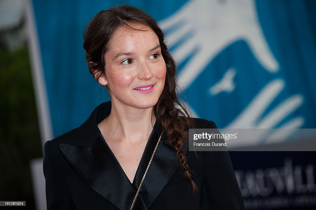Anais Demoustier arrives at the 'Lawless' Premiere during the 38th Deauville American Film Festival on September 5, 2012 in Deauville, France.