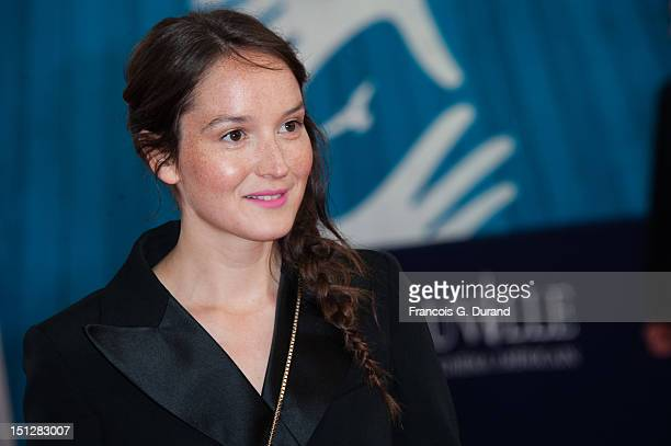 Anais Demoustier arrives at the 'Lawless' Premiere during the 38th Deauville American Film Festival on September 5 2012 in Deauville France